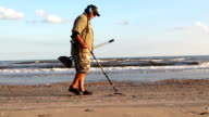 Metal Detecting On The Beach video