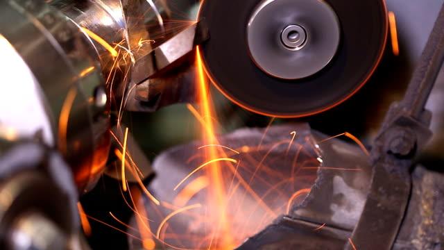 Metal grinding (HD) video