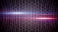 metal mesh and light stripes loopable background video