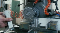 Metal Milling Machine in Process. video