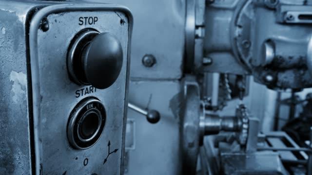 Metal Milling Machine in Process. video