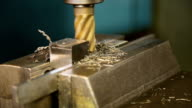 metal milling machine video