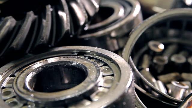 Metal parts of a car video