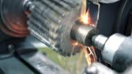 Metal processing plant. video
