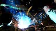 Metal welding video