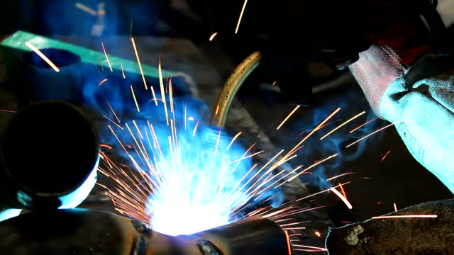 Metal welding video