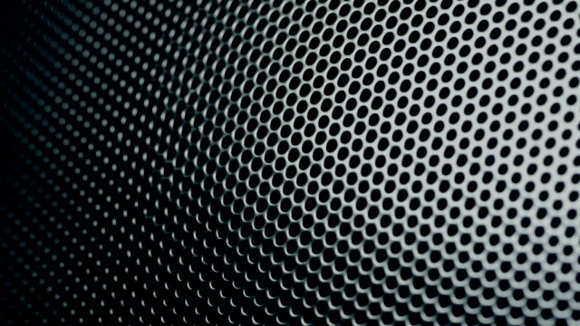 Metallic grid motion background. video