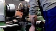 Metalurgy worker video