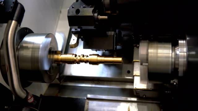 Metalworking CNC milling machine. video