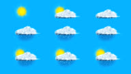 Meteorology symbols video