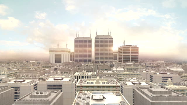Metropolitan City Flight To The Sky video