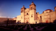 Mexican Colonial Church in Oaxaca video
