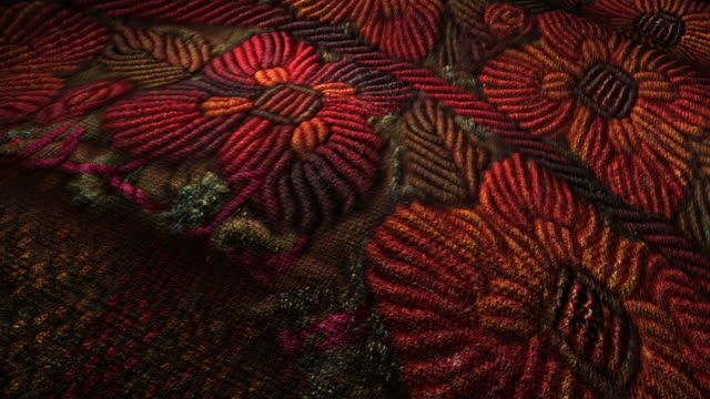 Mexican Fabric texture video