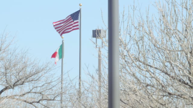 Mexican Flag and the American Flag 2 video