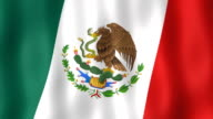 Mexican Flag (Loop Video) video