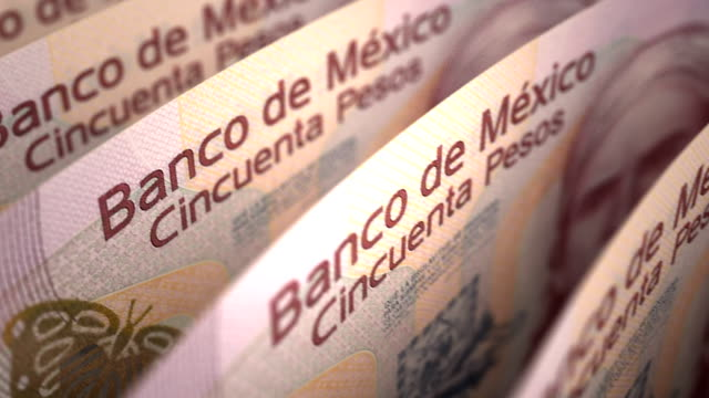 Mexican Pesos Close-up video