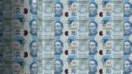 mexican pesos printing - animation video