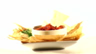Mexican Salsa And Chips Seamless Loop - HD video