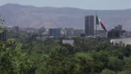 Mexico City and Mexican Flag video