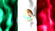 Mexico Flag Animation video