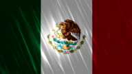 Mexico Flag Loopable Animation video