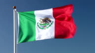 Mexico national flag video