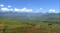 Mhlwazini  - Aerial View - KwaZulu-Natal,  South Africa video