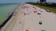 Miami Beach aerial flyover video
