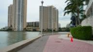 Miami Riverwalk video