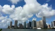 Miami Skyline Timelapse, HD Video video