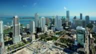 Miami time lapse. Building site video