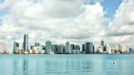 Miami Timelapse skyline video
