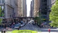 Michigan & Washington Avenue, in Chicago, IL, USA video