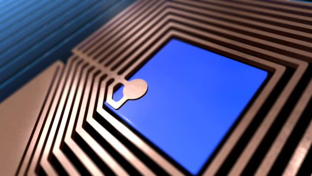 CPU microchip processing Data video