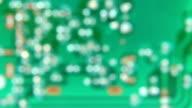 Microcircuit chip video