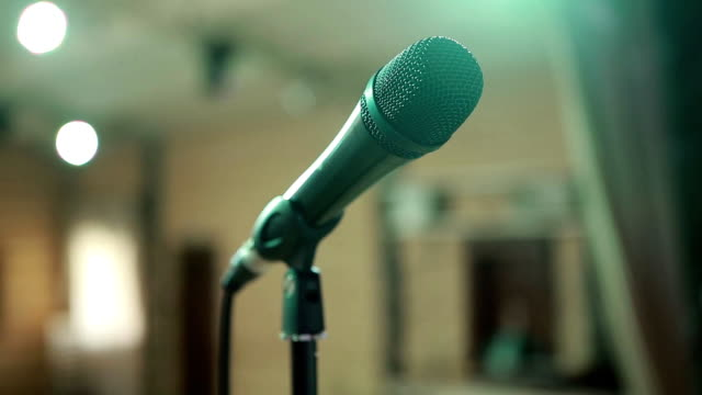 Microphone In Concert Hall video