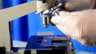 microscope video