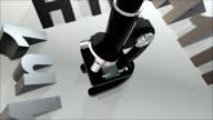 H1N1 Microscope Zoom video