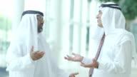 Middle eastern businessmen video