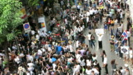 Middle-class protest in Thailand video