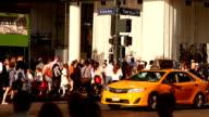Midtown Manhattan Street Scene in New York City video