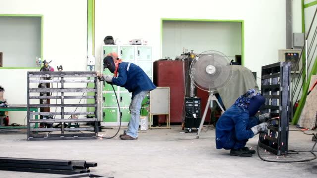 Mig welding video