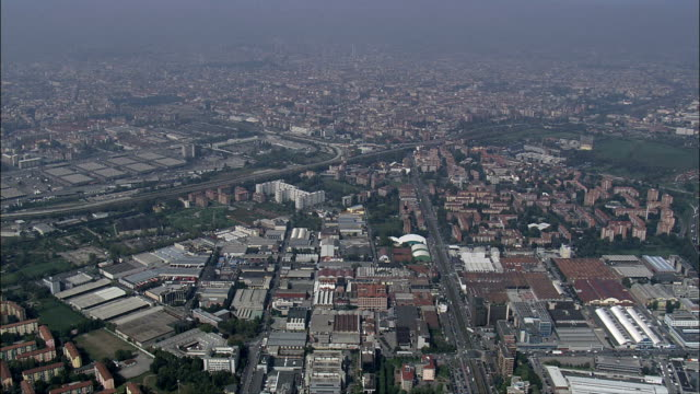 Milan - Aerial View - Lombardy, Milan, Italy video