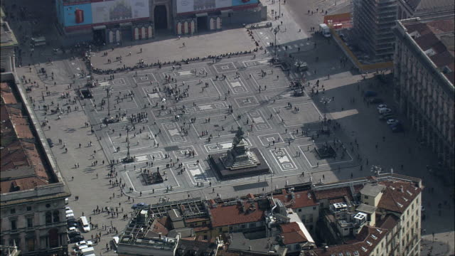Milan Cathedral  - Aerial View - Lombardy, Milan, Italy video
