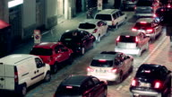 Milano City Cars at Night video