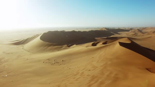 Miles of desert sand video