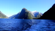 Milford Sound Landscape, South Island, New Zealand video