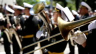 Military brass band video