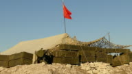 military camp Soviet troops in Afghanistan video