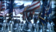 Military Color Guard 1950's video